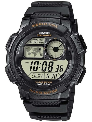 CASIO AE-1000W-1AVEF Collection