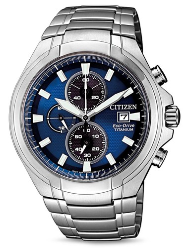 Citizen CA0700-86L Eco-Drive Super Titanium Chrono