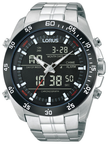 Lorus RW611AX9 Analog-Digital Alarm Chronograph