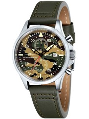 AVI-8 AV-4013-08 Hawker Hurricane Chrono
