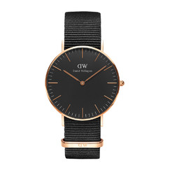 Daniel Wellington DW00100150 Classic Black Cornwall