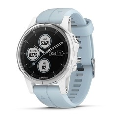 Garmin fenix5S Plus White Optic, Seafoam Band