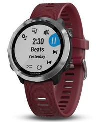 Garmin Forerunner 645 Music Optic, Steel, Red band