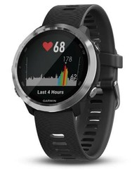 Garmin Forerunner 645 Optic, Steel, Black band