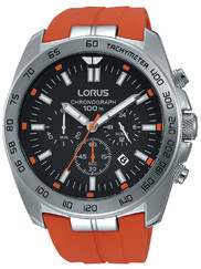 Lorus RT331EX9 Sport Chronograph orange