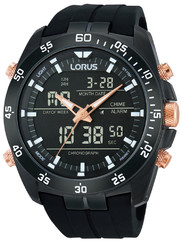 Lorus RW615AX9 Analog-Digital Alarm Chronograph