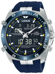 Lorus RW617AX9 Analog-Digital Alarm Chronograph