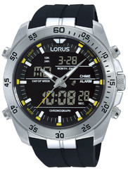 Lorus RW619AX9 Analog-Digital Alarm Chronograph