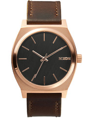 NIXON A045-2001 Time Teller Gunmetal Brown