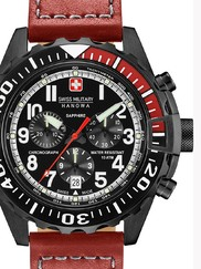 Swiss Military Hanowa 06-4304.13.007 Touchdown Chrono